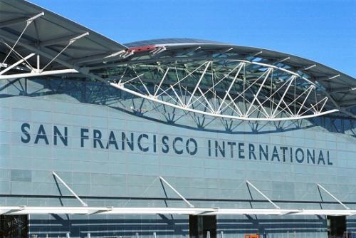 資料圖:舊金山國際機場